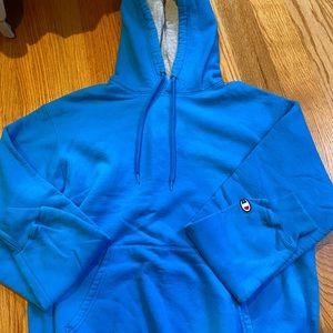 Men's Blue Champion Hoodie NWOT